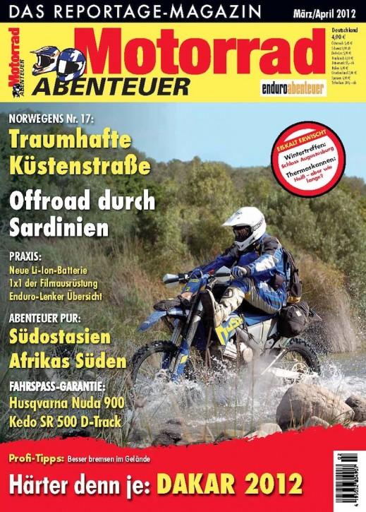 MotorradABENTEUER März/April 2012