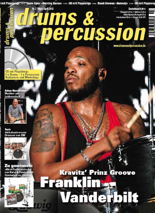 drums&percussion März/April 2012
