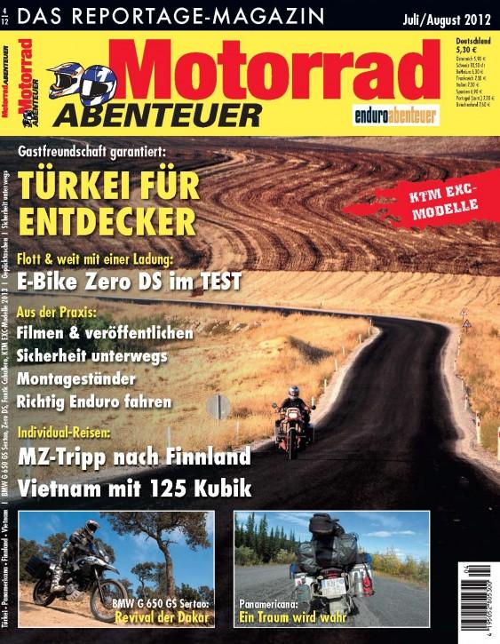 MotorradABENTEUER Juli/August 2012