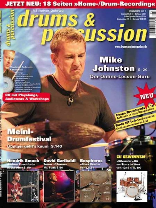 drums&percussion September/Oktober 2012