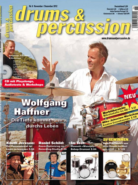 drums&percussion November/Dezember 2012