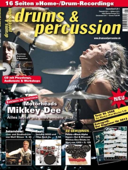drums&percussion Januar/Februar 2013