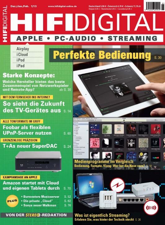 HIFI Digital 1/2013 gedruckte Ausgabe