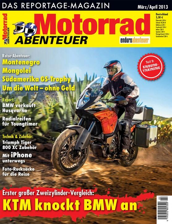 MotorradABENTEUER März/April 2013