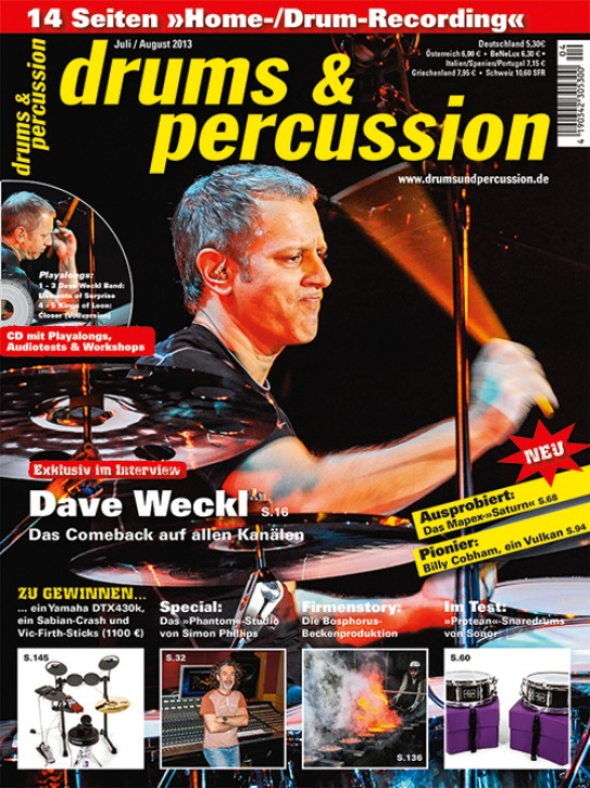 drums&percussion Juli/August 2013