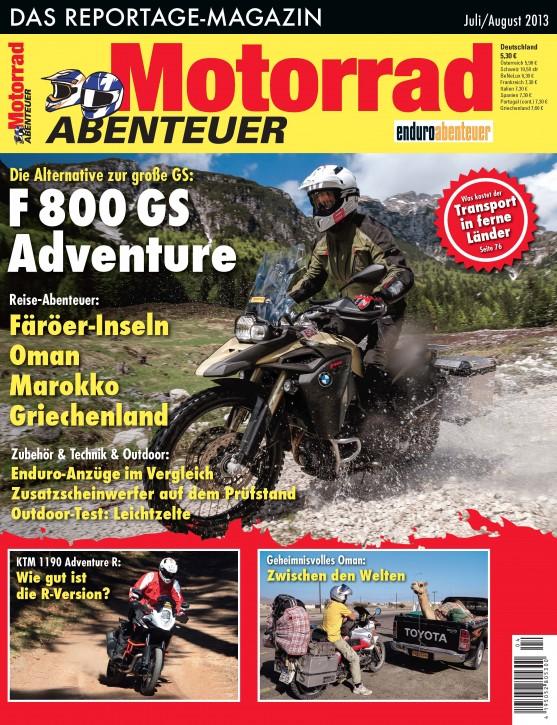 MotorradABENTEUER Juli/August 2013