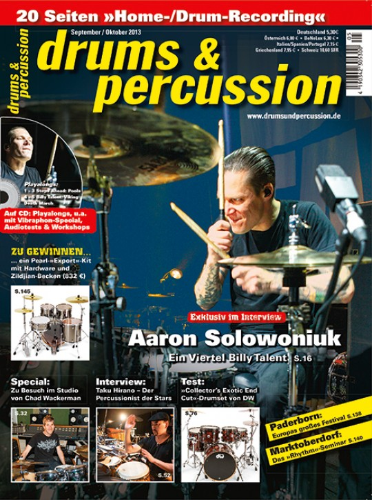 drums&percussion September/Oktober 2013