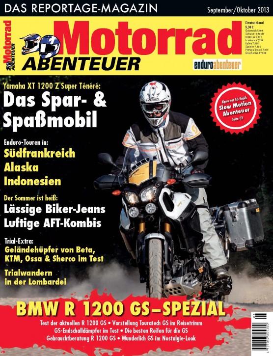 MotorradABENTEUER September/Oktober 2013