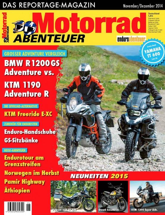 MotorradABENTEUER November/Dezember 2014