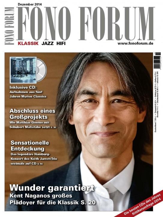 Fono Forum Dezember 2014