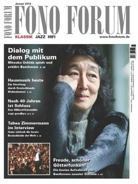Fono Forum Januar 2014