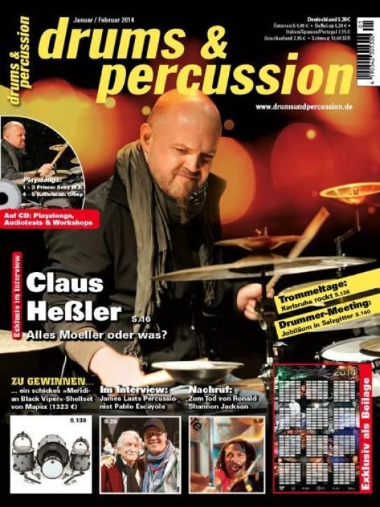 drums&percussion Januar/Februar 2014