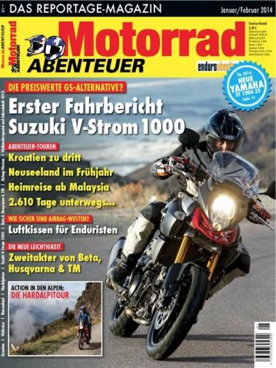 MotorradABENTEUER Januar/Februar 2014