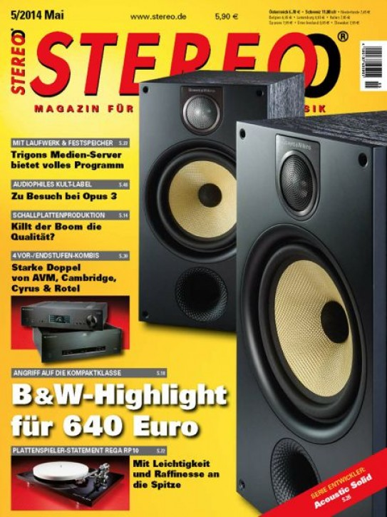 STEREO Mai 2014 gedruckte Ausgabe