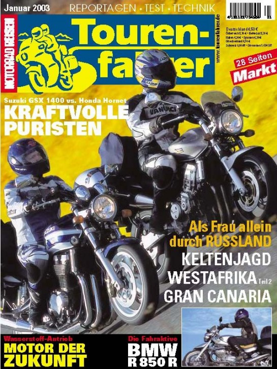 TOURENFAHRER Januar 2003