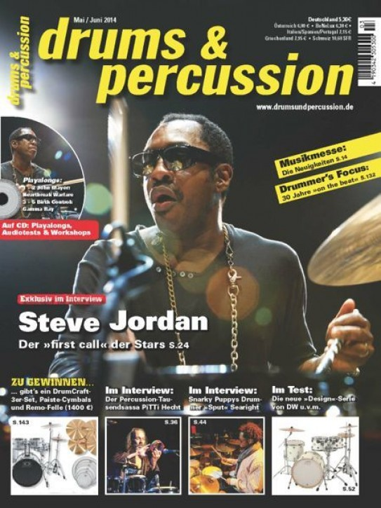 drums&percussion Mai/Juni 2014