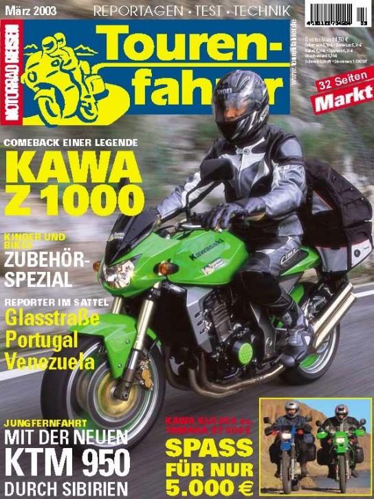TOURENFAHRER März 2003