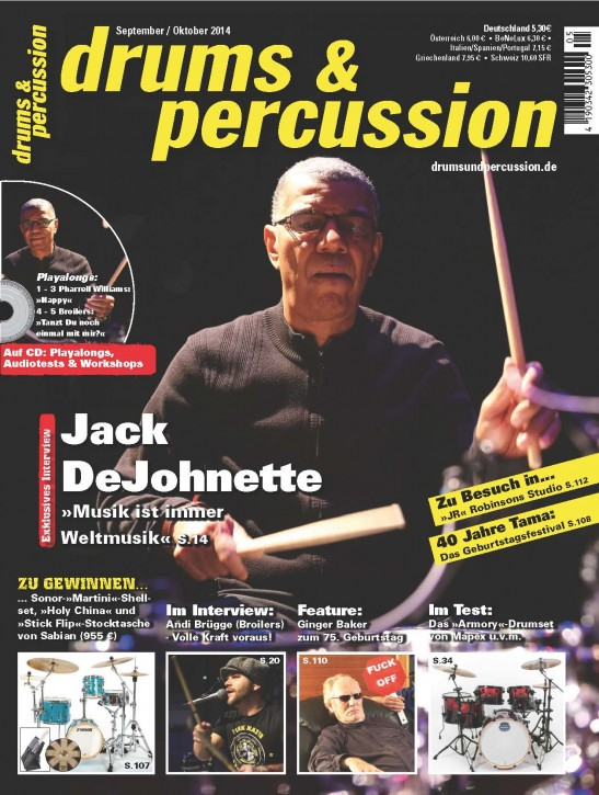 drums&percussion September/Oktober 2014