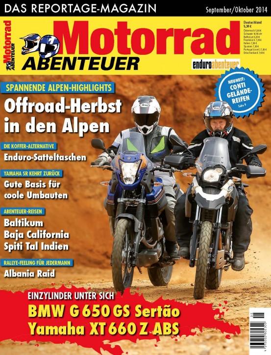 MotorradABENTEUER September/Oktober 2014