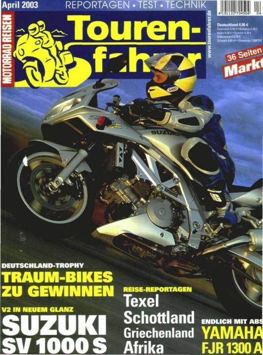 TOURENFAHRER April 2003