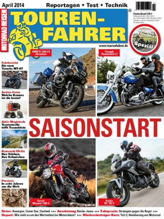 TOURENFAHRER April 2014