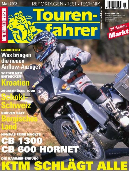 TOURENFAHRER Mai 2003