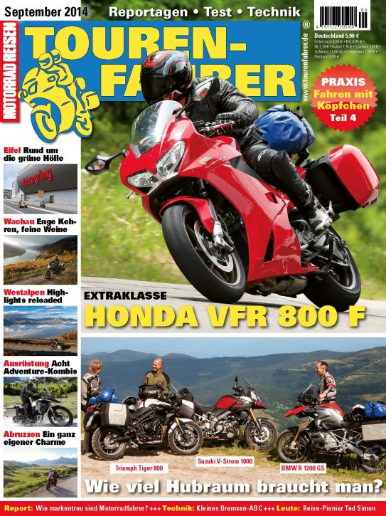 TOURENFAHRER September 2014