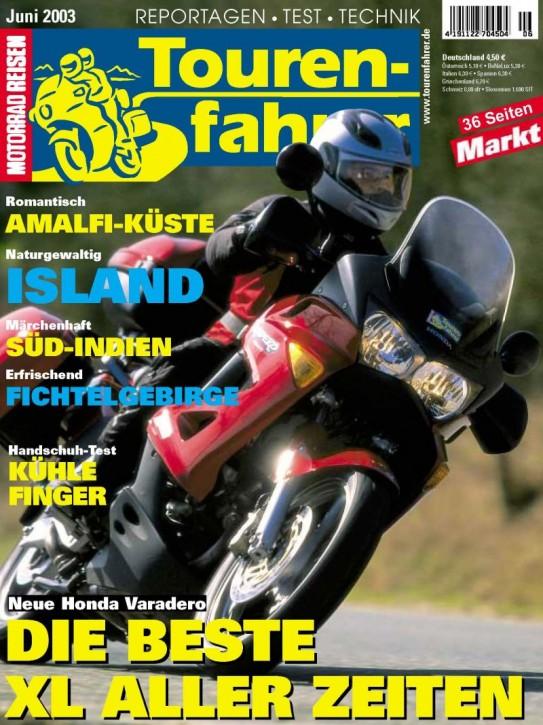 TOURENFAHRER Juni 2003