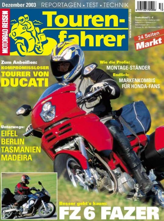 TOURENFAHRER Dezember 2003