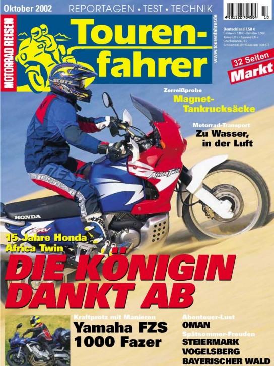 TOURENFAHRER Oktober 2002