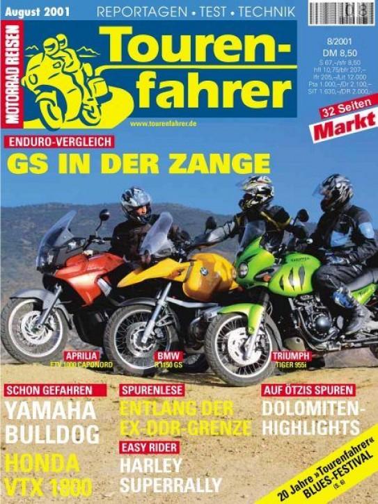 TOURENFAHRER August 2001
