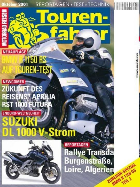 TOURENFAHRER Oktober 2001