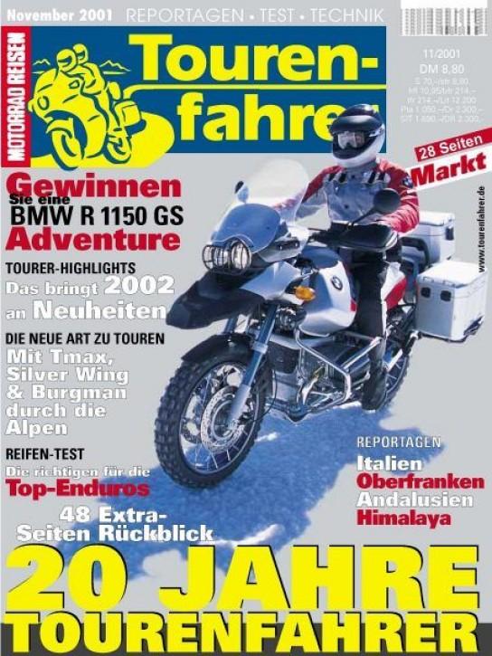 TOURENFAHRER November 2001