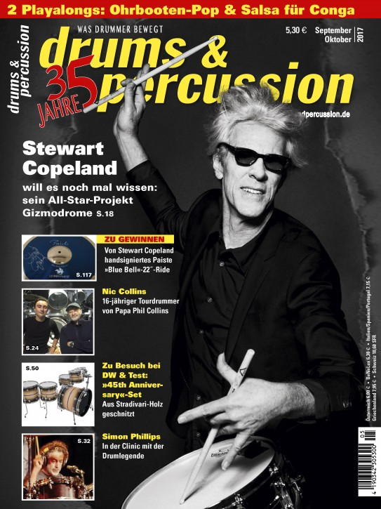 drums&percussion September/Oktober 2017