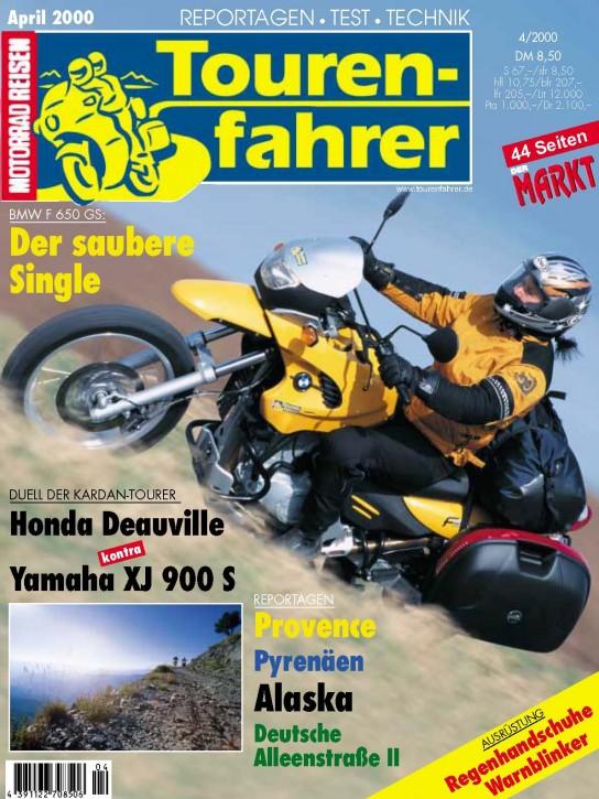 TOURENFAHRER April 2000