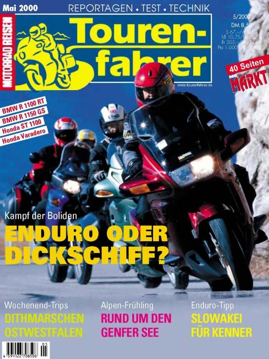 TOURENFAHRER Mai 2000