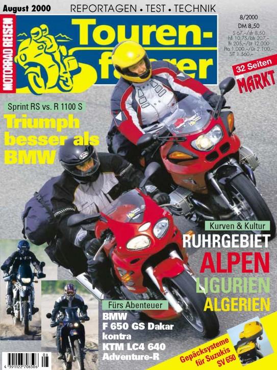 TOURENFAHRER August 2000