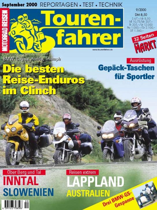 TOURENFAHRER September 2000
