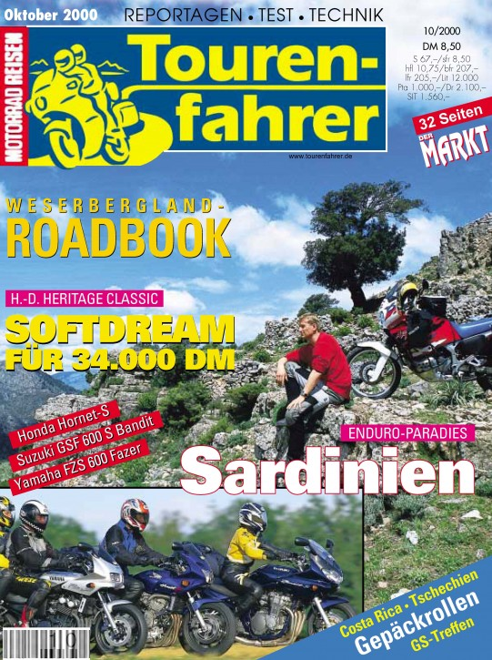 TOURENFAHRER Oktober 2000