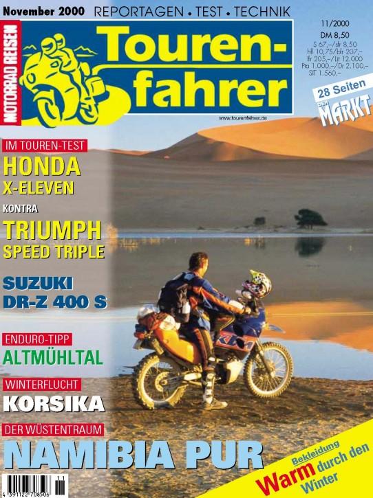 TOURENFAHRER November 2000