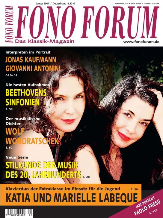 FonoForum Januar 2008