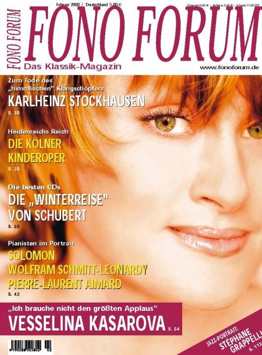 FonoForum Februar 2008