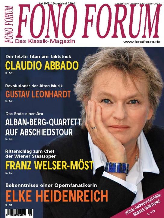 FonoForum Juni 2008