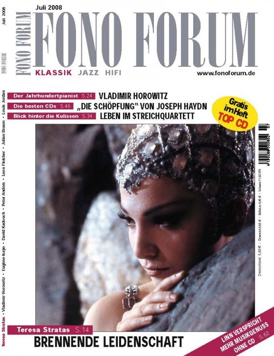 FonoForum Juli 2008