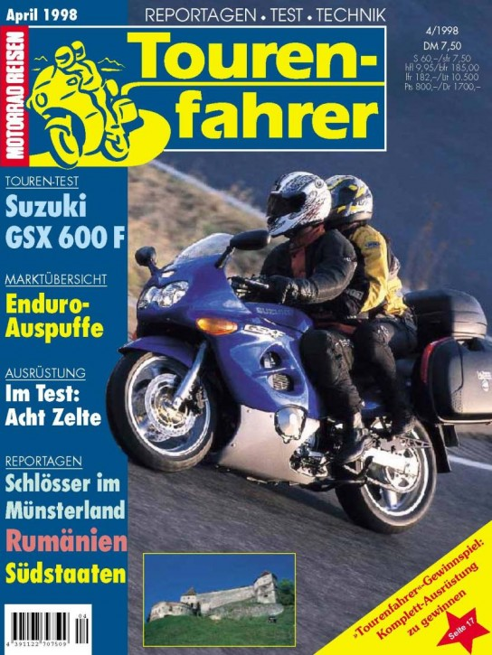 TOURENFAHRER April 1998