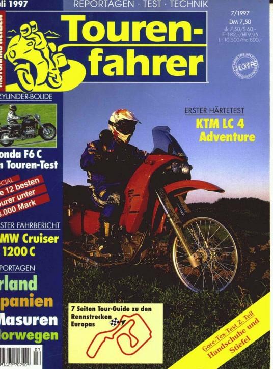TOURENFAHRER Juli 1997