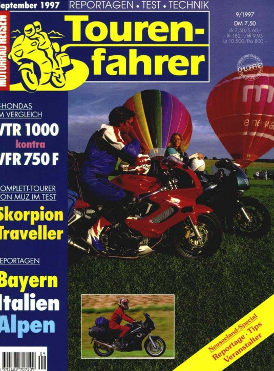 TOURENFAHRER September 1997