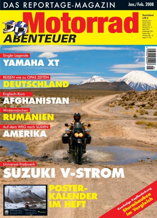 MotorradABENTEUER Januar/Februar 2008