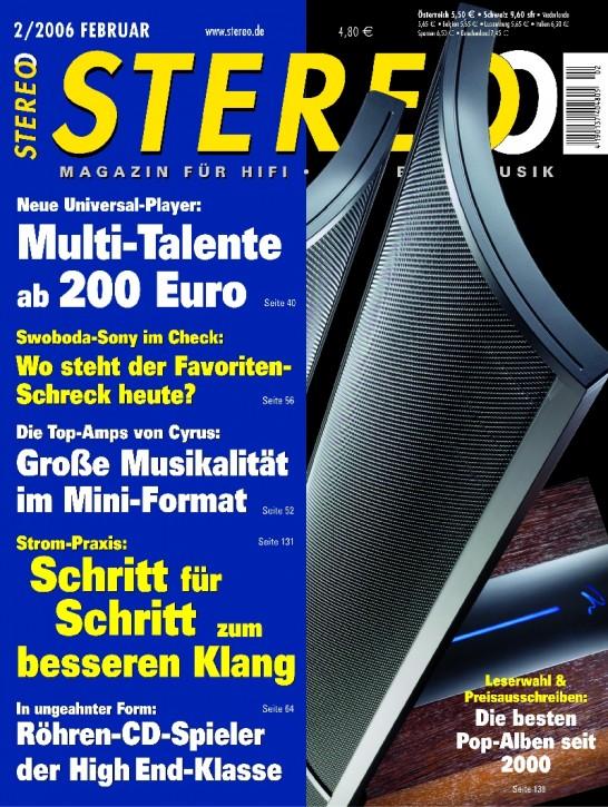 STEREO Februar 2006