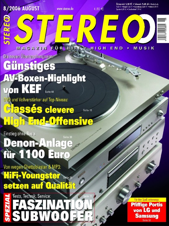 STEREO August 2006